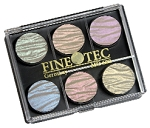 Watercolor Set of 6 Shimmer Pearl Moiree Colors