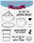 One Cup Stamp