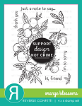 Orange Blossoms Stamp Set