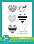 Patterned Hearts Stamp Set