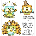 Fall is a Hoot Stamp Set