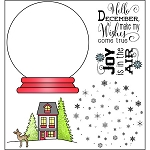 Snow Globe Stamp Set