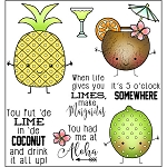 Lime In De Coconut Stamp Set