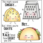 Cheesy Stamp Set