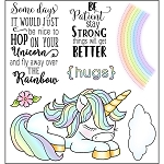 Hop on Unicorn Stamp Set