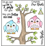 On a Limb Stamp Set