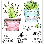 Aloe My Friend Stamp Set