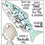 Hugs & Fishes Stamp Set