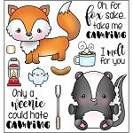 Weenies Love Camping Stamp Set