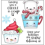 Cuddle in a Cup Stamp Set
