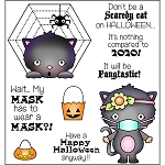 Scary Halloween Stamp Set