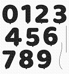 Pumped Up Numbers Stamp Set