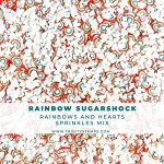 Rainbow Sugarshock: Rainbow and White Sprinkle Embellishment Mix