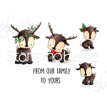 Reindeer Family Stamp Set