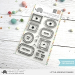 Little Agenda Frames Stamp Set