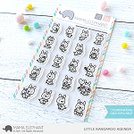 Little Kangaroo Agenda Stamp Set