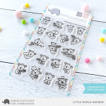 Little Koala Agenda Stamp Set
