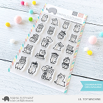 Little Llama Agenda Stamp Set