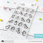 Little Unicorn Agenda Stamp Set