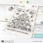 Oh Puppy Tree Stamp Set