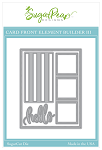 Card Front Element Builder III Sugar Cuts
