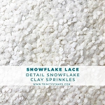 Snowflake Lace Sprinkles Mix
