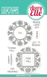 Snow Tags Stamp Set