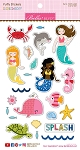 Secrets of the Sea Girl Icon Puffy Stickers