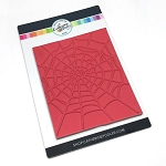 Spider Web Background Stamp