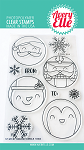 Holiday Circle Tags Stamp Set