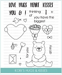 Kobi's Hugs & Kisses Stamp Set