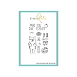 Kobi Loves School Stamp Set