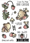 Strawberry Patch Stamp Set