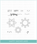 Happy Snowflakes Stamp Set