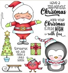 Tree-mendous Santa Stamp Set