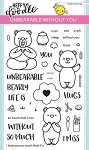 Unbearable Without You Stamp Set