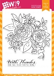 Beautiful Bouquet: Ranunculus Stamp Set