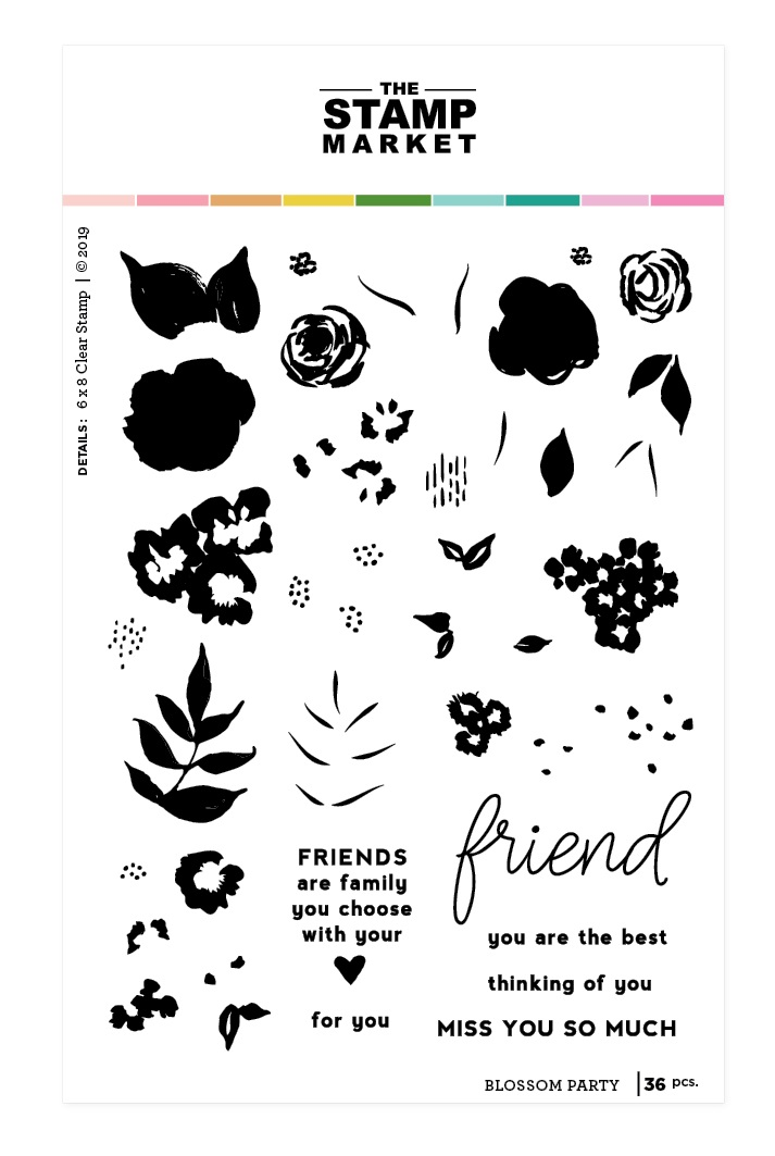 Blossom Party Stamp Set