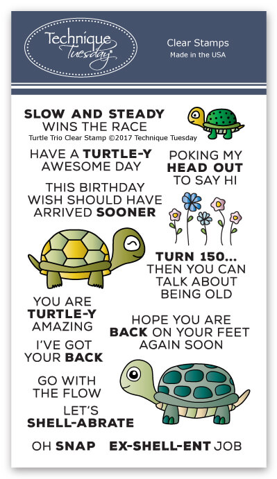 Turtle Trio Stamp Set