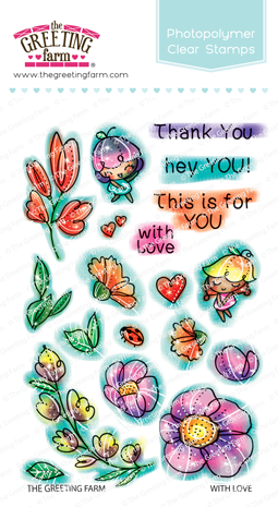 With Love Stamp Set