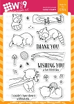 Curious Forest Friends Stamp Set