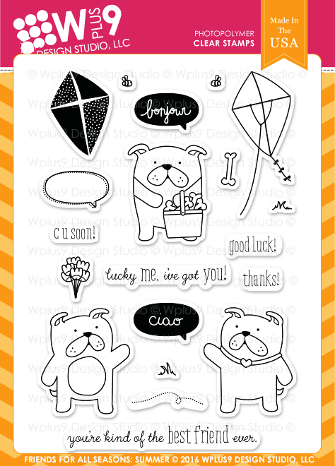 Friends For All Seasons: Summer Stamp Set