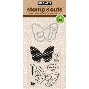 Butterfly Stamp & Cut