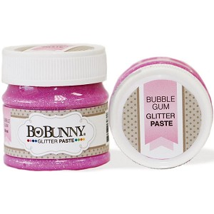 Double Dot Glitter Paste Bubble Gum