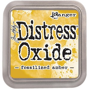 Distress Oxide Ink Pad Fossilized Amber