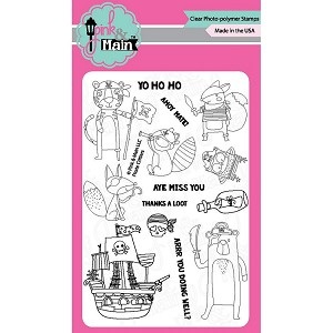 Pirate Critters Stamp Set