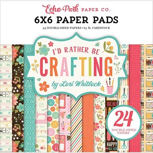 I'd Rather Be Crafting 6x6 Paper Pad
