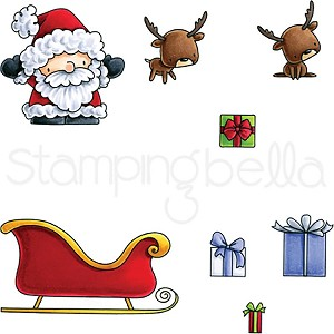 Santa's Gifts Stamp Set