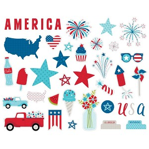 Fireworks & Freedom Icons Ephemera