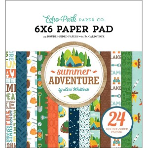 Summer Adventure 6x6 Paper Pad